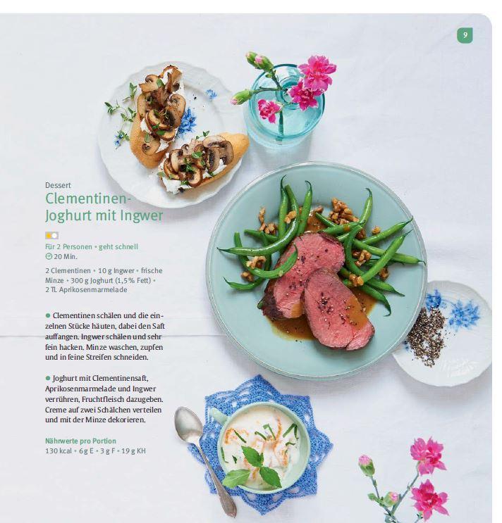 Kochbuch Köstlich Essen Fructoseintoleranz Seite 9