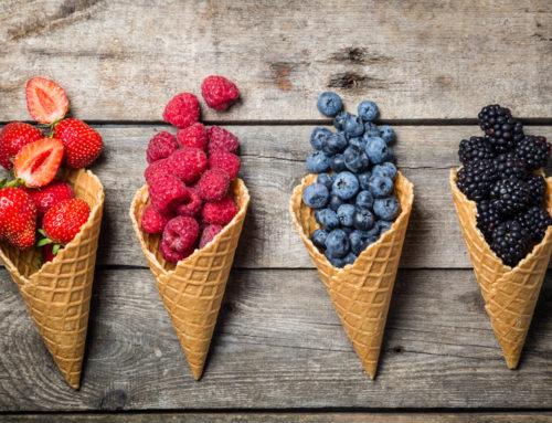 20 Obstsorten mit wenig Fruchtzucker!
